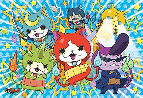 Ensky Jigsaw Puzzle 108-L512 Yo-Kai Watch (108 L-Pieces)