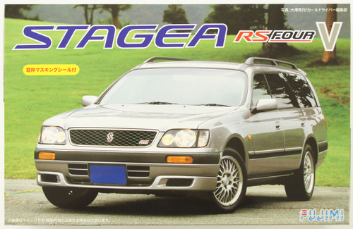 Fujimi ID-147 Nissan Stagea RS Four V 1/24 Scale Kit 039169