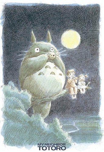 Ensky Jigsaw Puzzle 300-208 My Neighbor Totoro Studio Ghibli (300 Pieces)