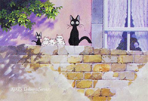Ensky Jigsaw Puzzle 300-244 Kikis Delivery Service Studio Ghibli (300 Pieces)