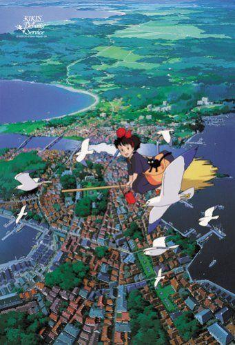 Ensky Jigsaw Puzzle 300-249 Kikis Delivery Service Studio Ghibli (300 Pieces)