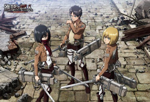 Ensky Jigsaw Puzzle 300-775 Japanese Anime Attack on Titan (300 Pieces)