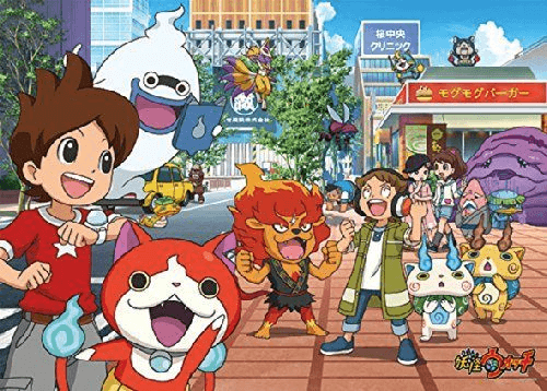 Ensky Jigsaw Puzzle 300-L380 Japanese Game Yo-Kai Watch (300 L-Pieces)