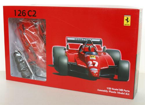 Fujimi GP1 090320 F1 Ferrari 126C2 San Marino GP 1/20 Scale Kit 090320
