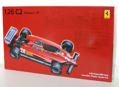 Fujimi GP6 090429 F1 Ferrari 126C2 1982 Monaco GP 1/20 Scale Kit 090429