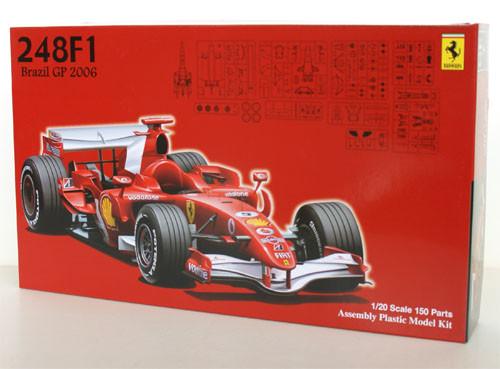 Fujimi GP7 090412 F1 Ferrari 248F1 2006 Brazil GP 1/20 Scale Kit 090412