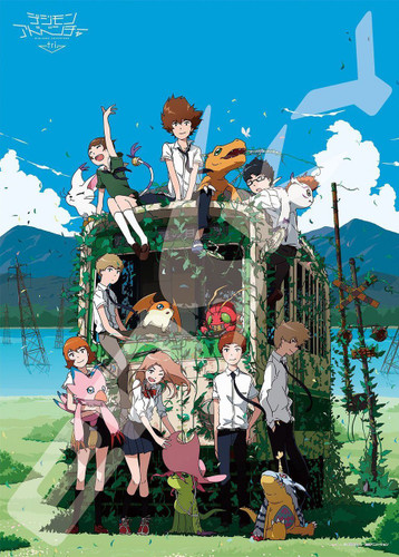 Ensky Jigsaw Puzzle 500-185 Digimon Adventure tri. (500 Pieces)