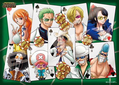 Ensky Jigsaw Puzzle 500-190 One Piece Film Gold Trump Art (500 Pieces)