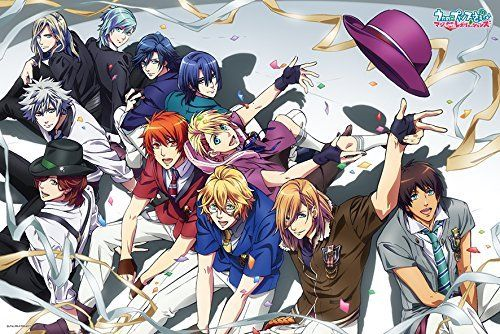 Ensky Jigsaw Puzzle 500-L170 Japanese Anime Uta no Prince-sama (500 L-Pieces)