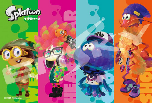 Ensky Jigsaw Puzzle 70-m40 Splatoon Booyah Base (70 Small Pieces)