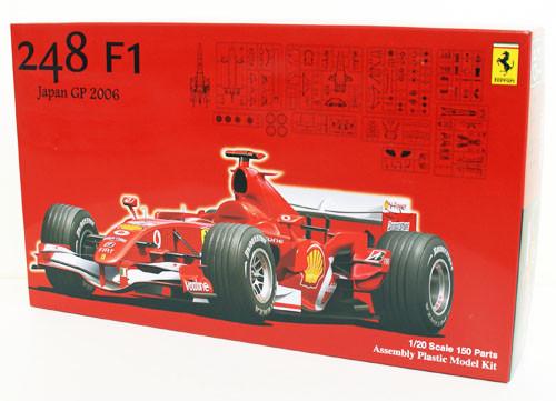 Fujimi GP13 090504 F1 Ferrari 248 Japan GP 2006 1/20 Scale Kit 090504