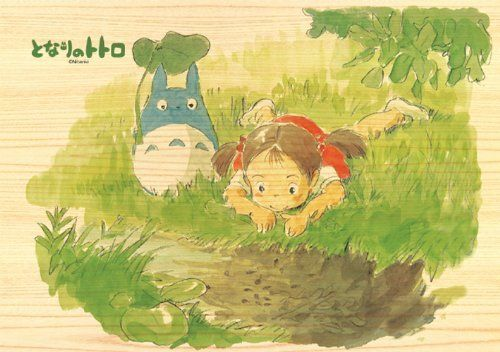 Ensky Wooden Jigsaw Puzzle 208-W203 My Neighbor Totoro Studio Ghibli 208 Pieces