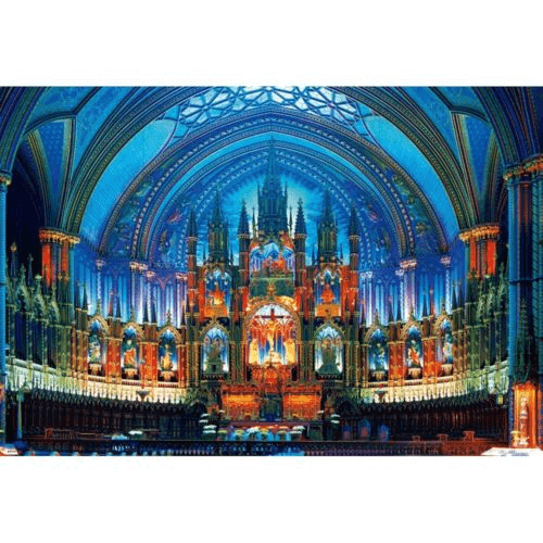 Beverly Jigsaw Puzzle 31-413 Notre-Dame Basilica (Montreal) (1000 Pieces)