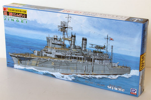 Pit-Road Skywave W-36 IJN Submarine Tender JINGEI 1/700 Scale Kit