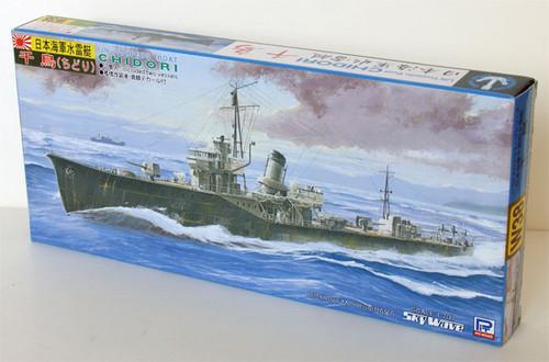 Pit-Road Skywave W-38 IJN Torpedo Boat CHIDORI 1/700 Scale Kit