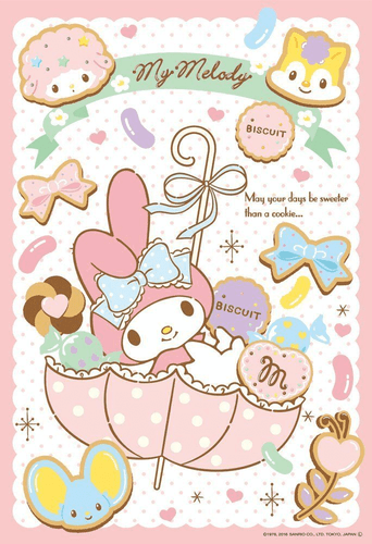 Beverly Jigsaw Puzzle 40-002 Sanrio My Melody (40 L-Pieces)