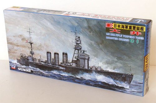 Pit-Road Skywave W-46 IJN Torpedo Cruiser OI 1/700 Scale Kit