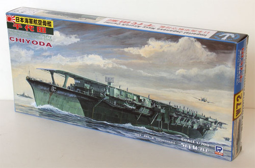 Pit-Road Skywave W-72 IJN Carrier CHIYODA 1/700 Scale Kit