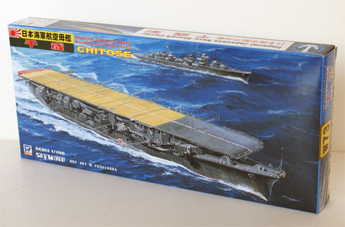 Pit-Road Skywave W-73 IJN Carrier CHITOSE 1/700 Scale Kit