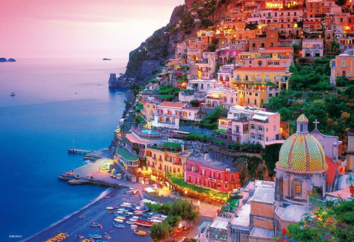 Beverly Jigsaw Puzzle M71-842 Amalfi Coast Italy (1000 S-Pieces)