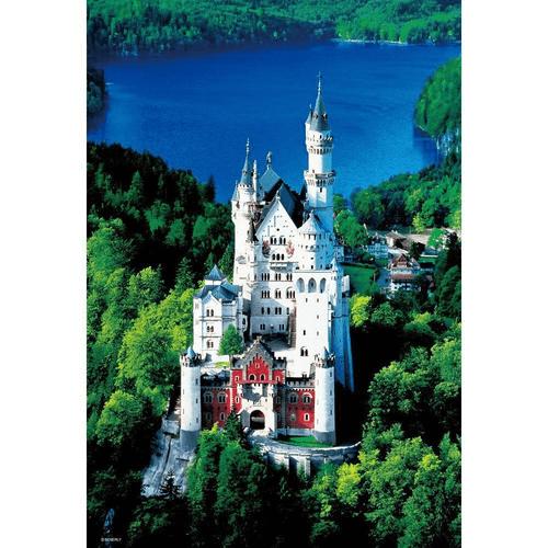 Beverly Jigsaw Puzzle M81-834 Neuschwanstein Castle (1000 S-Pieces)