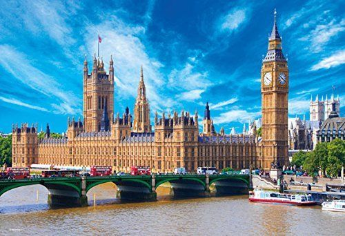 Beverly Jigsaw Puzzle M81-852 Palace of Westminster (1000 S-Pieces)