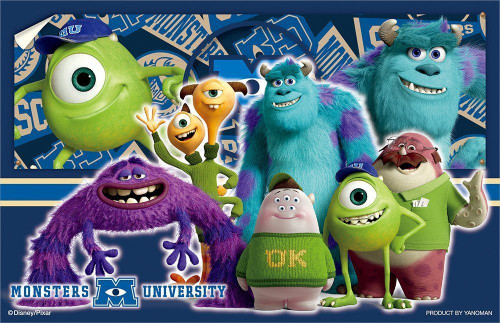 Yanoman Clear Stand Jigsaw Puzzle 2500-01 Disney Monsters University (132 Pieces