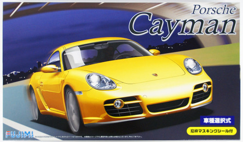 Fujimi RS-20 Porsche Cayman / Cayman S 1/24 Scale convertible Kit 126227