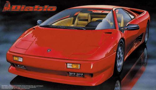 Fujimi RS-21 Lamborghini Diablo 1/24 Scale Kit 124216