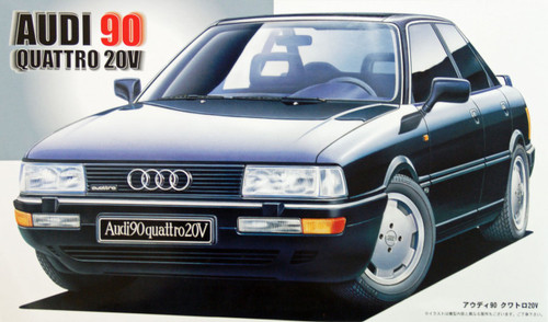 Fujimi RS-26 Audi 90 Quattro 20V 1/24 Scale Kit 121826