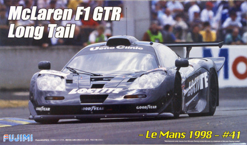 Fujimi RS-57 McLaren F1 GTR Long Tail Le Mans 1998 #41 1/24 Scale Kit 125800
