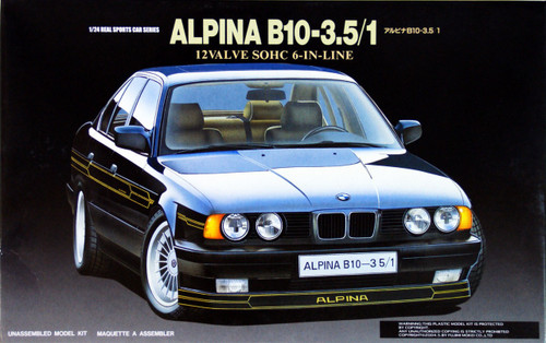 Fujimi RS-58 BMW 535 Alpina 1/24 Scale Kit 122052