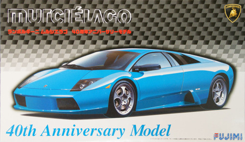 Fujimi RS-75 Lamborghini Murcielago 40th Anniversary Model 1/24 Scale Kit