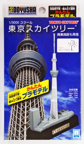 Doyusha 004722 Tokyo Sky Tree 1/3000 Scale Plastic Model Kit