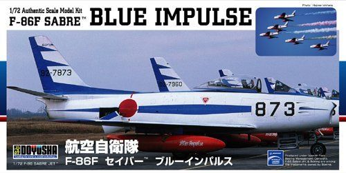 Doyusha 400920 F-86F SABRE Blue Impulse 1/72 Scale Plasti Kit