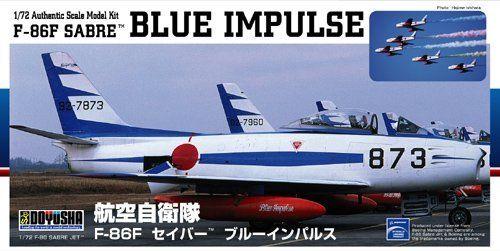 Doyusha 400920 F-86F SABRE Blue Impulse 1/72 Scale Plasti Kit