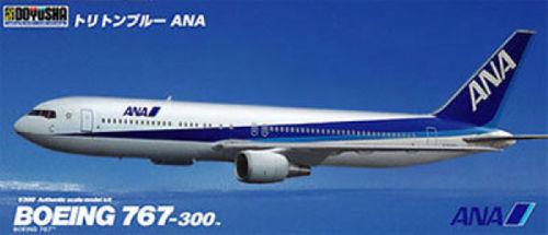 Doyusha 420287 ANA Boeing B767-300 Triton Blue 1/300 Scale Plastic Kit