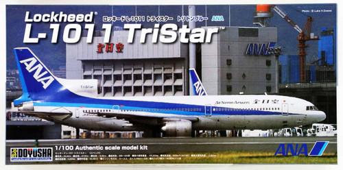 Doyusha 420416  L-1011 TriStar ANA Nippon Airway Triton Blue 1/100 Scale Kit