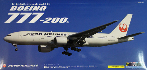 Doyusha 420478 Boeing 777-200 JAL Japan Airlines 1/144 Scale Plastic Kit
