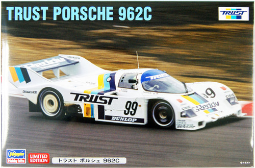 Hasegawa 20283 Trust Porsche 962C 1/24 Scale Kit