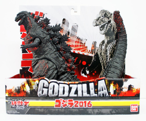 Bandai Monster King Series Godzilla 2016 Shin Godzilla Figure