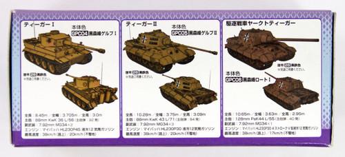GSI Creos Mr.Hobby CS202 Mr. Girls und Panzer Color Set Kuromorimine Version