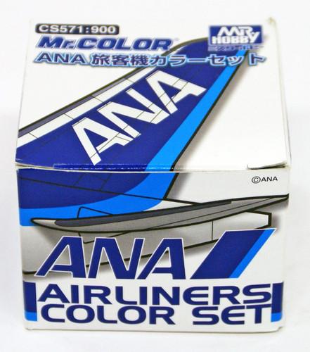 GSI Creos Mr.Hobby CS571 Mr. ANA Airline Color Set