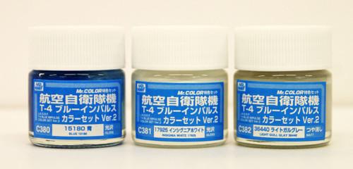 GSI Creos Mr.Hobby CS667 Mr. J.A.S.D.F T-4 Blue Impulse Color Set Version 2