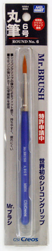 GSI Creos Mr.Hobby MB04 Mr. Brush Round No.6