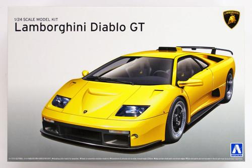 Aoshima 10501 LAMBORGHINI DIABLO GT 1/24 scale kit