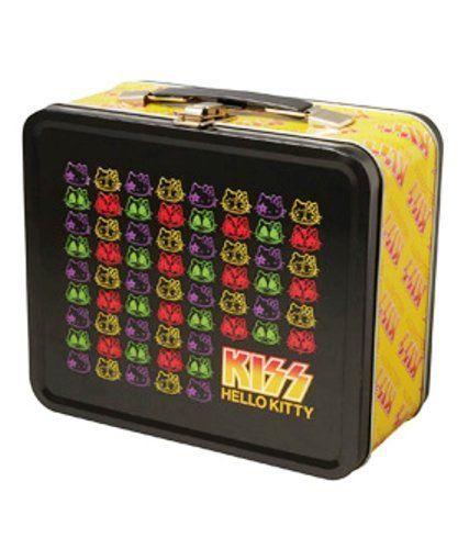 Medicom MLE KISS x HELLO KitTY Tin Box Pattern 4530956306971