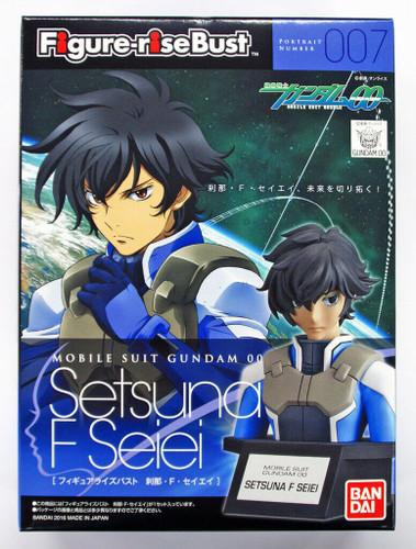 Bandai Figure-Rise Bust 007 Gundam OO SETSUNA F SEIEI 4549660094470