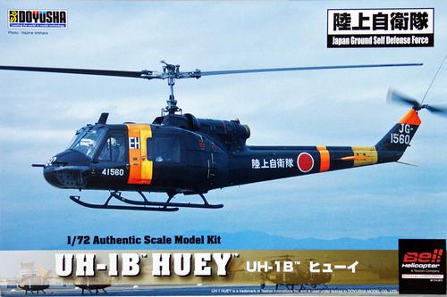 Doyusha 401163 UH-1B Huey JGSDF 1/72 Scale Plasti Kit