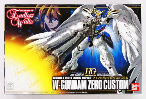 Bandai 612096 Gundam W Endless Waltz W-Gundam Zero Custom 1/144 Scale Kit